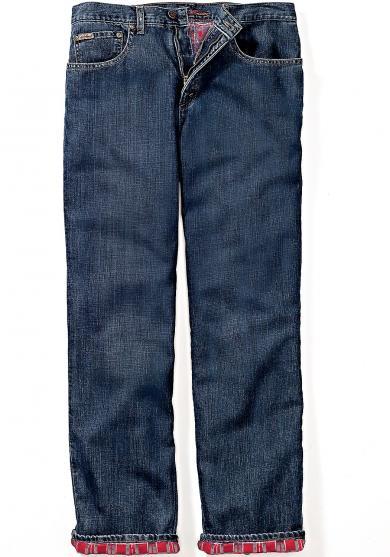 Gefütterte Relaxed Fit Jeans