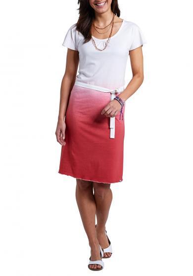 Kleid im Dip-Dyed-Look