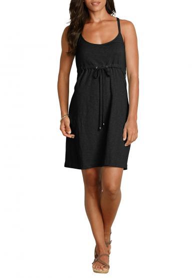 Kleid in Slub-Qualität