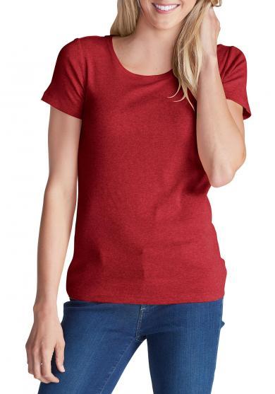 Basic-Shirt mit Rundhalsausschnitt Damen