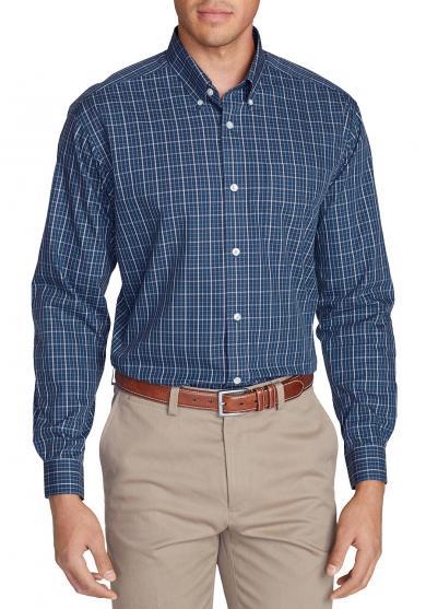 Knitterarmes Pinpoint - Oxfordhemd - Langarm - Classic Fit - Blautöne Herren