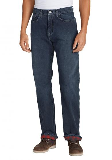Flex Jeans mit Flanellfutter - Straight Fit Herren