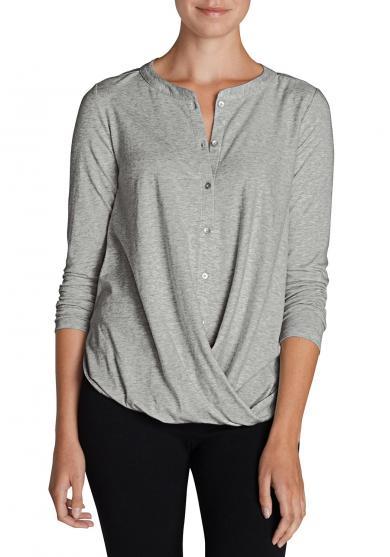Shirt mit gedrehter Front