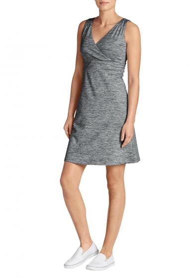 Aster Crossover Kleid - uni