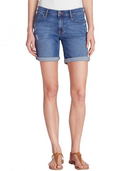 Elysian Boyfriend Shorts - Used Look