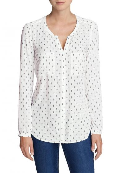 Falling Leaves Bluse - Bedruckt Damen