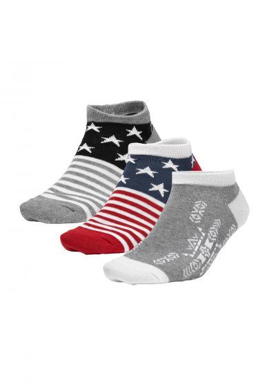 Sneaker Socken - 3 Paar