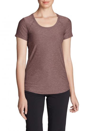 Infinity Shirt mit Rundhalsausschnitt - Kurzarm Damen