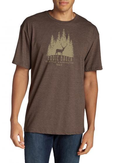 T-Shirt mit Motiv - Woods Elk