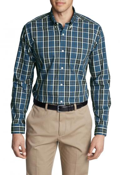 Knitterarmes Pinpoint - Oxfordhemd - Langarm - Classic Fit - Blautöne