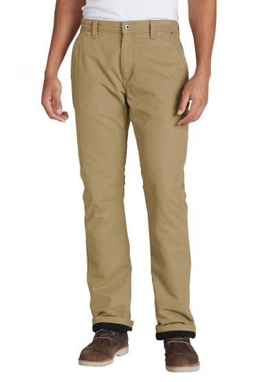 Mountain Canvas Hose mit Fleecefutter - Relaxed Fit Herren