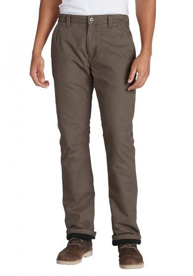 Mountain Canvas Hose mit Fleecefutter -- Relaxed Fit