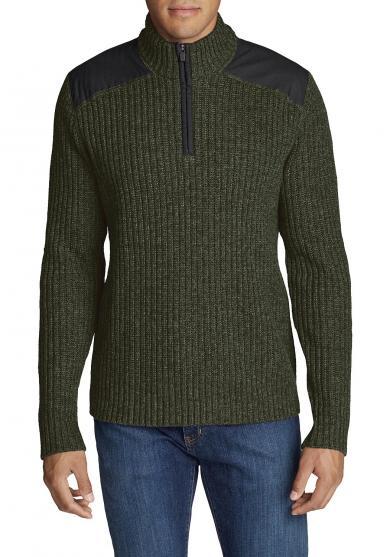 Field Stehkragen-Pullover Herren