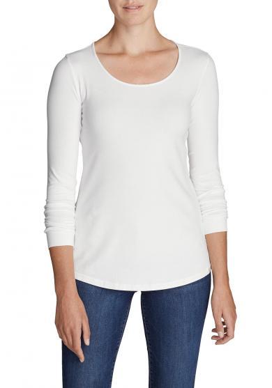 Shirt mit Rundhalsausschnitt - Langarm