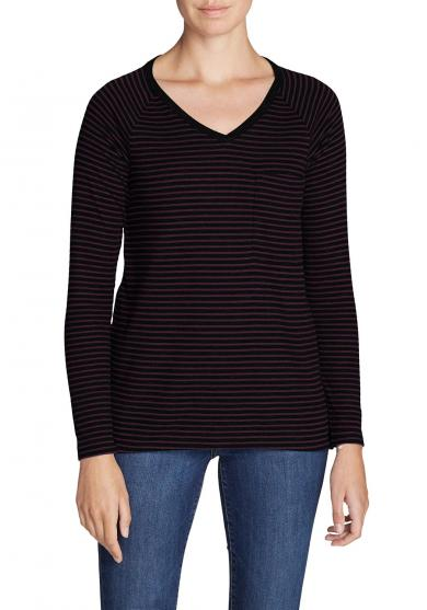 Meadow Waffel-Shirt Damen