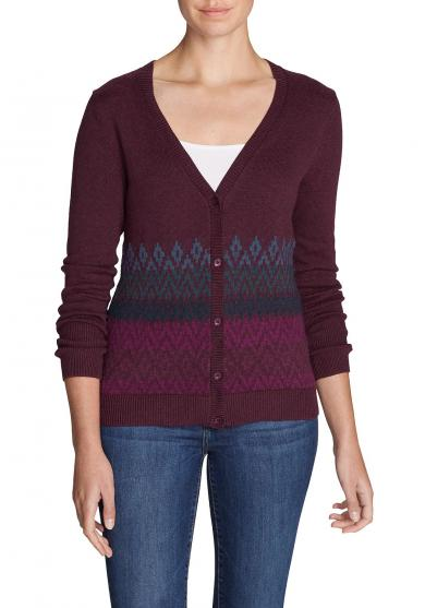 Christine Cardigan - Fairisle Damen