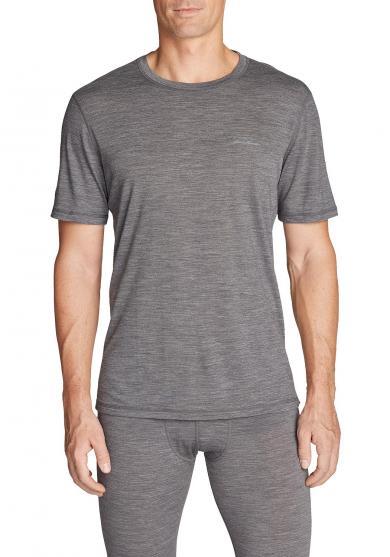 Merino T-Shirt mit Rundhalsausschnitt - Lightweight