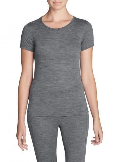 Merino Hybrid T-Shirt mit Rundhalsausschnitt - Lightweight