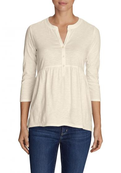 Mountain Meadow Henley - 3/4-Arm - Uni