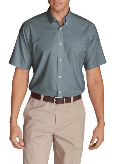 Oxfordhemd - Relaxed fit - Kurzarm - uni Herren