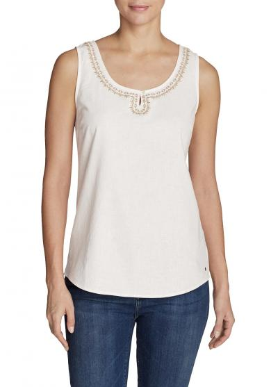 Vista Point Tanktop - bestickt Damen