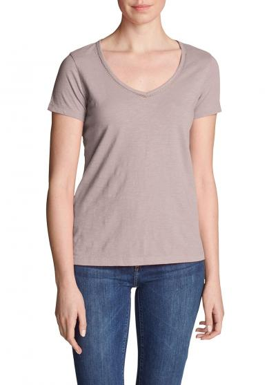Ladder Stitch T-Shirt Damen