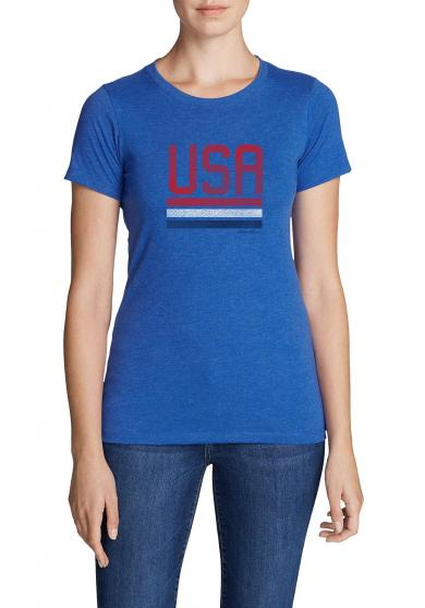 T-Shirt - Red, White and Blue