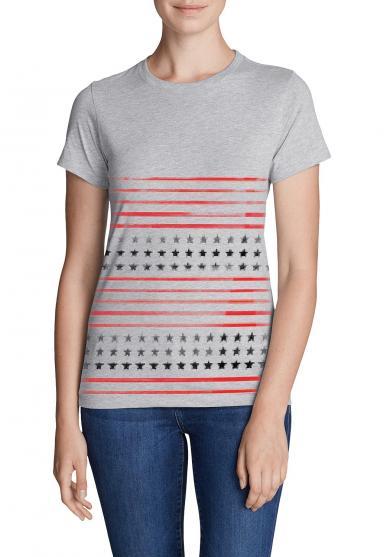 T-Shirt - Flag Damen