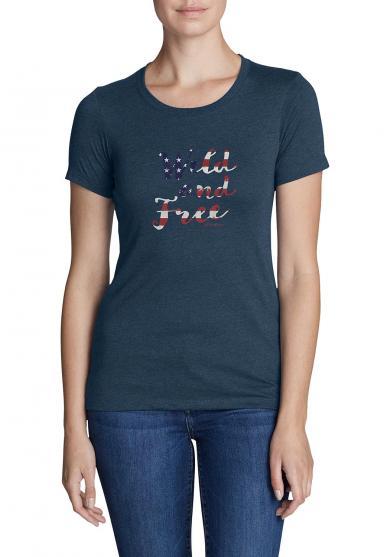 T-Shirt - Wild and Free