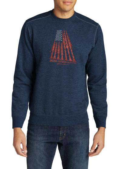 Camp Sweatshirt mit Grafikmotiv