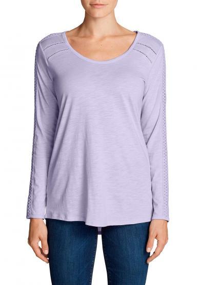 Willow Shirt mit Langarm und Spitze