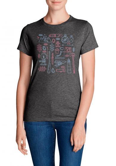 T-Shirt - Camping Emoji