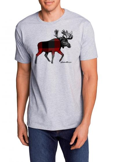 T-Shirt mit Logoprint Plaid Moose