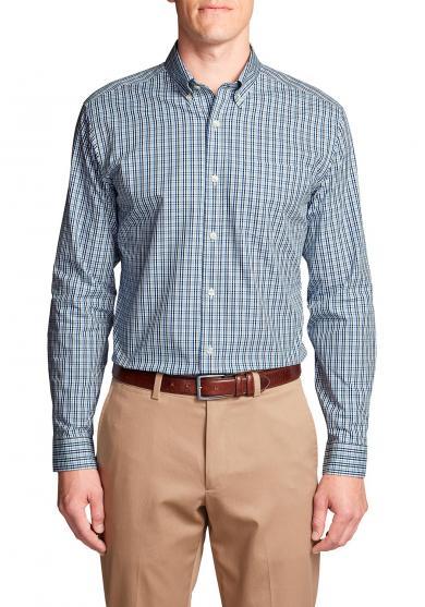 Knitterarmes Pinpoint-Oxfordhemd - Slim Fit Herren