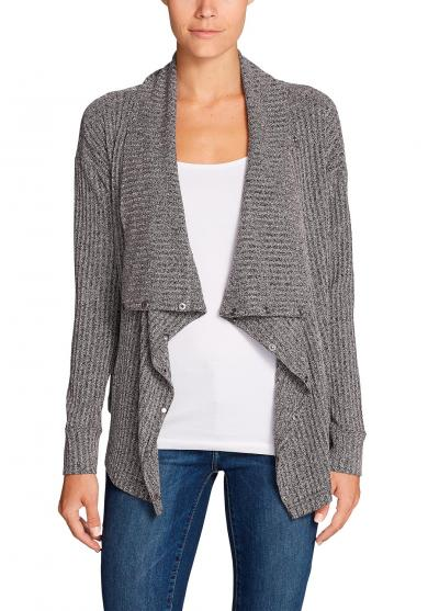 7 Days 7 Ways gerippter Cardigan Damen