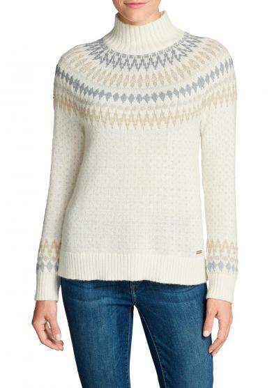 Artic Fair-Isle Pullover Damen