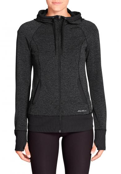 Movement Jacquard Jacke mit Kapuze