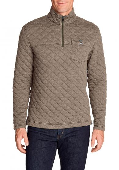 Forty Sweatshirt mit 1/4-Reissverschluss