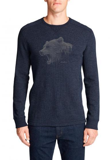 Waffelshirt - Growling Bear