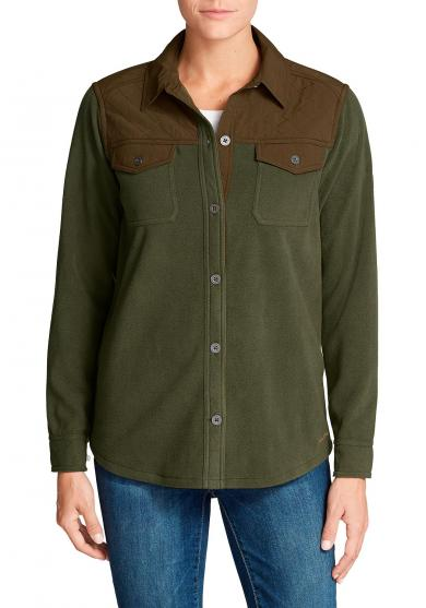 Chutes Field Fleece-Hemdjacke