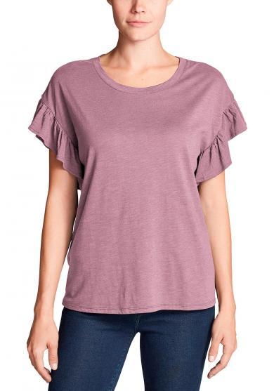 Willow Shirt mit Kurzarm und Rüschen Damen