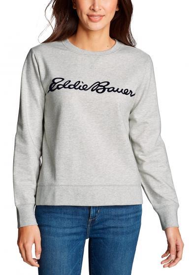 Camp Fleece Logo Sweatshirt Damen