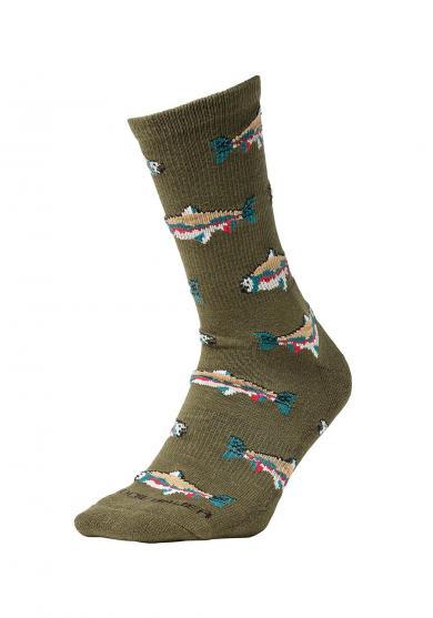 Trail Coolmax Socken - Gemustert