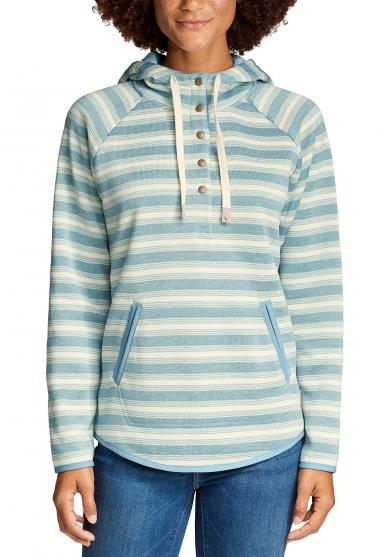 Radiator Strickfleece Pullover - geringelt