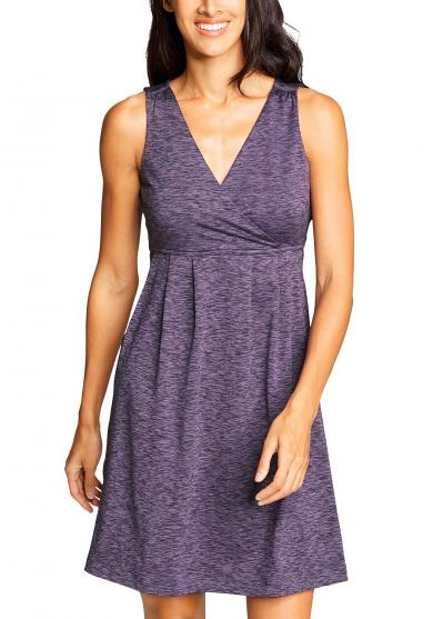 Aster Crossover Kleid - Bedruckt Damen