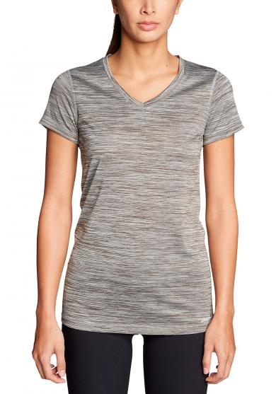 Resolution T-Shirt mit V-Ausschnitt Damen