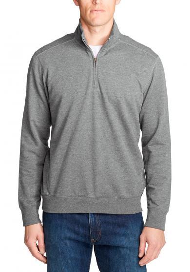 Camp Fleece Sweatshirt mit 1/4-Reissverschluss