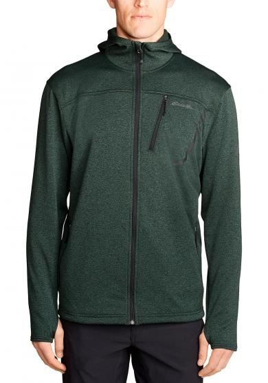 High Route Fleecejacke mit Kapuze