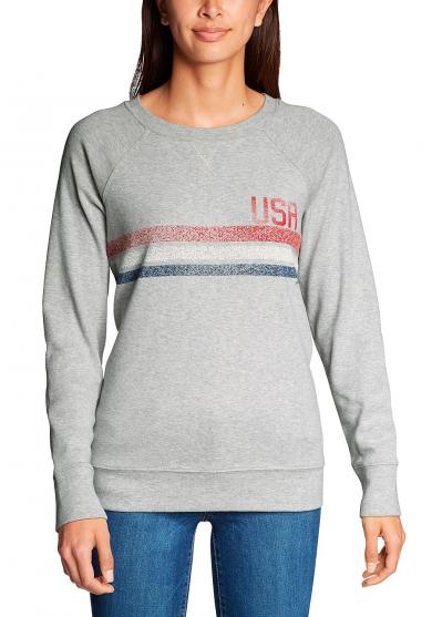 Camp Fleece Sweatshirt - Stripe