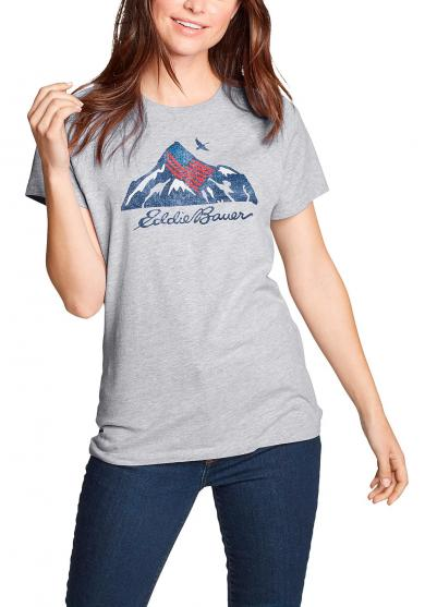 T-SHIRT - USA MOUNTAIN Damen